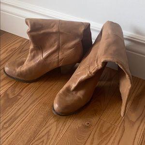 Aldo Knee High Heeled Boots